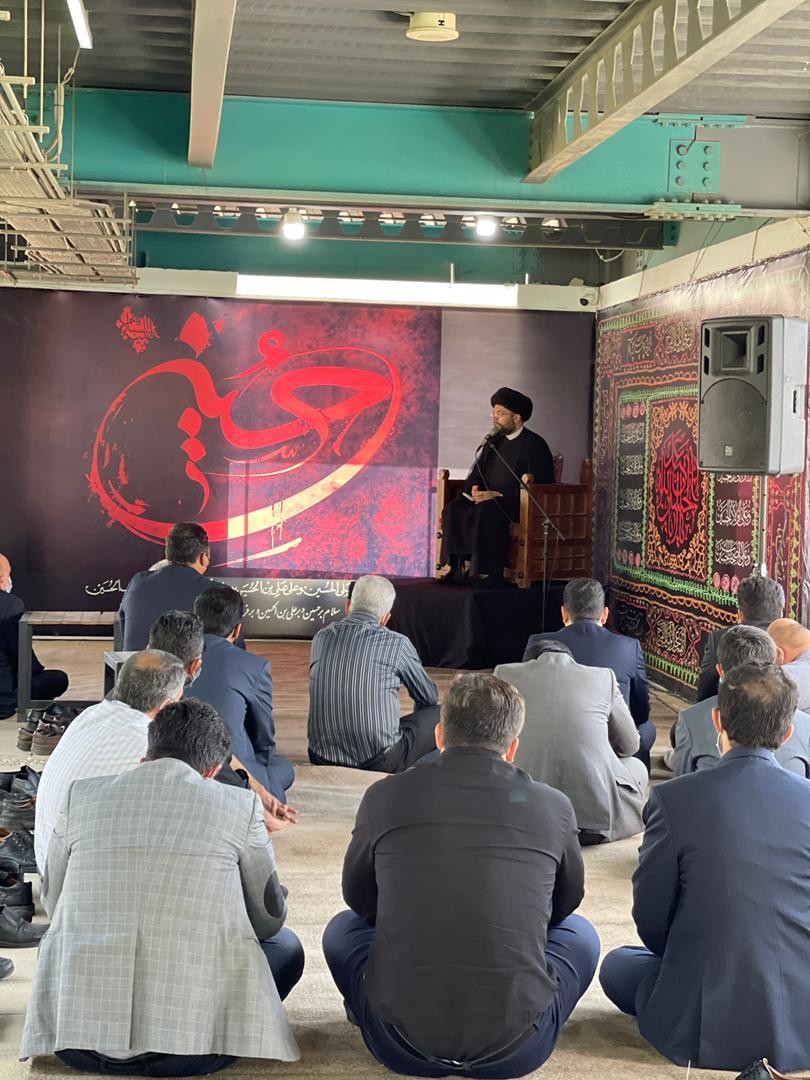برگزاری مراسم اربعین حسینی گزارش تصویری